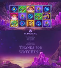 Merlin's Magic Mirror on Behance Medvedeva, Magic Mirror, Game Concept Art, Game Icon, Ui Inspiration, Halloween Games, Game Ui, 2d Art, Slot Machine