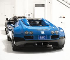Transformers Edition Bugatti Veyron Vitesse at the Monterey Jet Center during Car Week 2015.