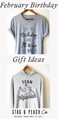 379b65a66 Click to shop these February Birthday T-Shirts as Great Gift Ideas! Whether  it's