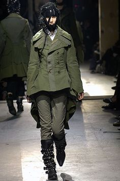 Junya Watanabe Fall 2006 Ready-to-Wear Collection Slideshow on Style.com