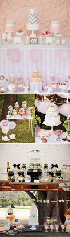 22 Lovely Dessert Table Designs - Leo  Bella