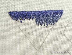 Long and Short Stitch Shading tutorials on needlenthread.com