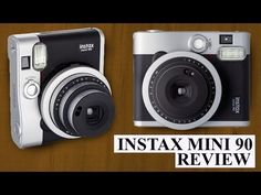 ▶ Fujifilm Instax Mini 90 Neo Classic Instant Polaroid Camera Review - YouTube
