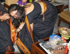 Hot Indian Desi Aunty in Saree really Hot Collection                                                                                                                                                      More