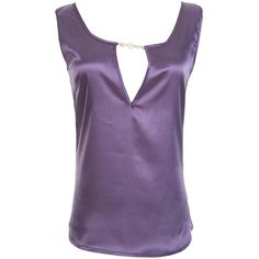 Womens Sexy Plain Cut Out Pullover Tank Top Purple ($6.78) ❤ liked on Polyvore featuring tops, purple, purple tank, sexy tanks, purple pullover, cut out tank and purple singlet