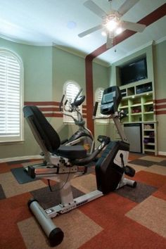 Home Gym Remodel  www.elainewilliamsondesigns.com