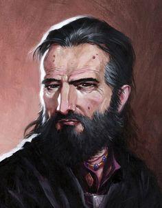 Lord Blackstaff by *RalphHorsley on deviantART
