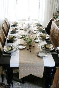 thanksgiving table ideas / jones design company