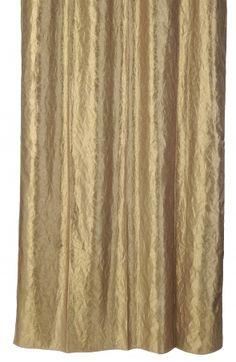 Cortina de Baño Arrugado Oro