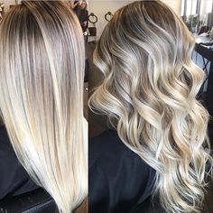 Balayage Hair Color Ideas for Short Hair – Stylish Hairstyles Brown Hair With Blonde Highlights, Baylage Blonde, Ash Blonde, Bright Blonde, Color Highlights, Blonde Fall Hair Color, Baylage Ombre, Platinum Blonde Ombre, Blonde Balayage Highlights
