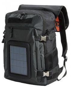 Plecak Helios z ogniwem solarnym 4W i powerbankiem / Helios backpack with solar panel 4W and powerbank