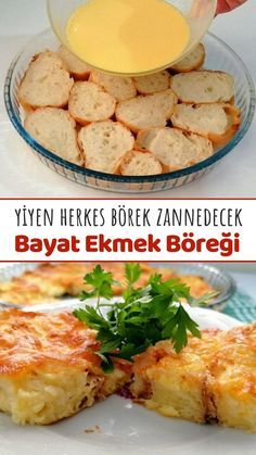 Yiyen Herkes Börek Zannedicek (Bayat Ekmek Böreği) (Videolu) - Nefis Yemek Tarifleri Baby Food Recipes, Low Carb Recipes, Cooking Recipes, Turkish Recipes, Ethnic Recipes, Good Food, Yummy Food, Greek Cooking, Food Preparation
