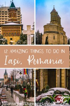 12 Amazing things to do in Iasi, Romania Brasov Romania, Bucharest Romania, History Of Romania, Transylvania Romania, Visit Romania, Romania Travel, Student Travel, Beautiful Places To Travel, Roadtrip