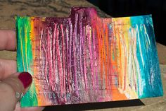Daily Paper Prompt #1: Paint a Rainbow - daily prompts - create explore paint