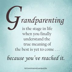 Love it! #grandparenting #aging #grandparents