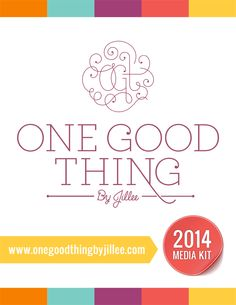 One Good Thing By Jillee Media Kit inspo