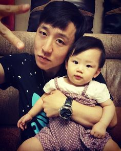 With my niece 김유나 love you