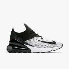 premium selection c459a 9758b Nike Air Max 270 Flyknit Black White
