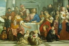 The Pilgrims of Emmaus | oil painting, 1559 | Paolo Caliari, known as Veronese ----- Musée du Louvre