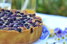 Blueberry Mazarin Tart