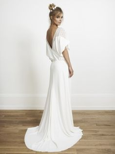 Rime Arodaky - Elin - Collection 2014 - Robe de mariee sur mesure Paris - La mariee aux pieds nus  - Credit photos Jonas Bresnan
