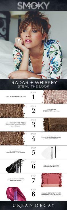 Urban Decay Naked Smoky - Radar + Whiskey