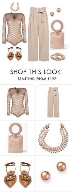 """Untitled #6172"" by lovetodrinktea ❤ liked on Polyvore featuring Balmain, A.L.C., Modern Weaving, Chanel, Dolce&Gabbana and Bloomingdale's"