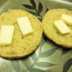 Gluten Free English Muffins Made in Electric Skillet Recipe