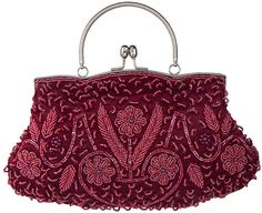 NEW BURGUNDY RED WINE  FAUX SUEDE EVENING DAY CLUTCH BAG WEDDING PROM CLUB PARTY