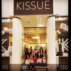 Huge congrats and good luck to one of our clients, @kissuetx on the grand opening of their first brick and mortar store at the Memorial City Mall in Houston, Texas! Pick up some fabulously curated clothing and accessories and check out their creative use of our Nomad System (pictured in the back) if you're in the area!  #mioculture #instadesign #houston #fashion #instagood #shopsmall #kissue #instastyle #youandmio