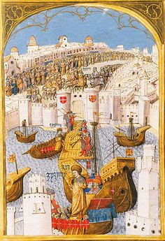 Prince Djem, brother and rival of the Ottoman Sultan, arrives in Rhodes 1482.