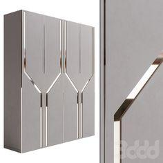 Wall Wardrobe Design, Wardrobe Interior Design, Wardrobe Door Designs, Door Design Interior, Wardrobe Doors, Room Design Bedroom, Home Room Design, Modern Luxury Bedroom, House Furniture Design