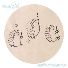 212 明日から夏休み、ひゃっほーい! we are on summer vacation starting tomorrow. Cute Kawaii Animals, Easy Doodle Art, Drawings, Art Reference Photos, Cute Animal Drawings, Cute Drawings, Hedgehog Drawing, Doodle Drawings, Inspirational Artwork