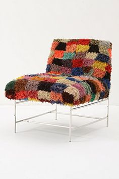 yummy chair - Chaise Eleven Patchwork Colors