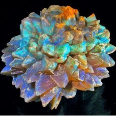 """Opal """"Pineapples"""" - an opal pseudomorph formed by the replacement of glauberite by opal - found only in New South Wales. photo: Grant Pearson Visit Amazing Geologist for more..."""