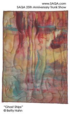 Art quilt by Betty Hahn