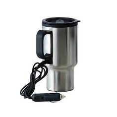 Caneca Térmica c/ Aquecedor p/ Carro 450 ml
