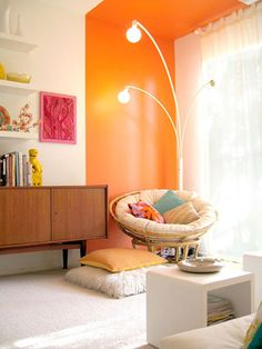 papasan chair...I don't care how juvenile it is, I still want one