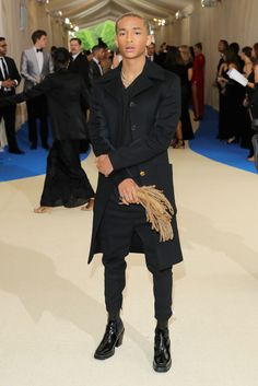 Jaden Smith in Louis Vuitton. His outfit was Poppin One of the Best