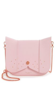 2475a69de Ted Baker London Ted Baker London Barkley Dog Leather Crossbody Bag  available at  Nordstrom Ted