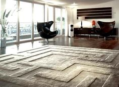 Do you have a room in need of some warmth, charm and style? wool area rugs might be just what you need. Wool area rugs are excellent additions to any home. Modern Rugs Uk, Modern Area Rugs, Modern Room, Modern Living, Luxury Living, Living Room Area Rugs, Room Rugs, Living Rooms, Carpet Design