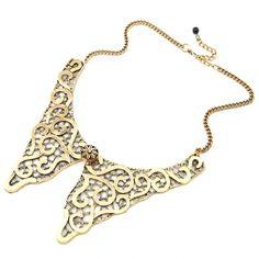 Retro Style Collar Necklace
