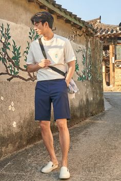 epigram X inserts the painter meg cooperation T-shirt to purchase in advance Summer Outfits Men, Stylish Mens Outfits, Asian Men Fashion, Tall Men Fashion, Gong Yoo, Facon, Korean Outfits, Mens Clothing Styles, Swagg