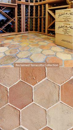 Small Garden Design, Kitchen Tile, Terracotta, Interior Architecture, Tile Floor, Marble, Flooring, Stone, Antiques
