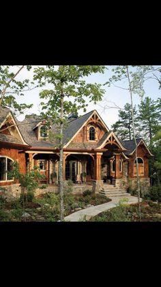 Best Cabin Design Ideas (47 Cabin Decor Pictures) | Home entrances ...