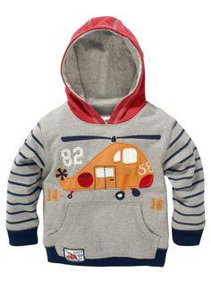 Baby Boy Hoodie Top Coat Sweatshirt Sportwear Clothing Sudaderas Plane 1-7 Years #HolidayEveryday