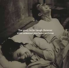 Relationship goals The goal is to laugh forever with someone you take seriously! Cute Love Quotes, Romantic Love Quotes, Love Quotes For Him, Couple Quotes, Words Quotes, Me Quotes, Sayings, Qoutes, Status Quotes