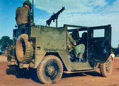 Armoured M151A1, South Vietnam 1968