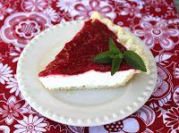 Raspberry Cream Pie - Jamie Cooks It Up! Printable Recipes