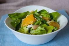 Апельсиновый салат с фетой, белой и зеленой фасолью Сегодня представлю вашему рецепт аппетитного, и в то же #Рецепты #Салаты #Десерты #Мясо #Вкусно #Готовить #Кулинария